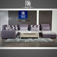 Discount Hot Selling Cheap Soft Chaise Couch Sectional Lounge Sofa Set
