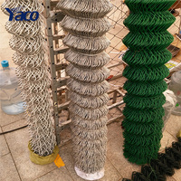 Wholesale zinc coated tennis court chain link fence