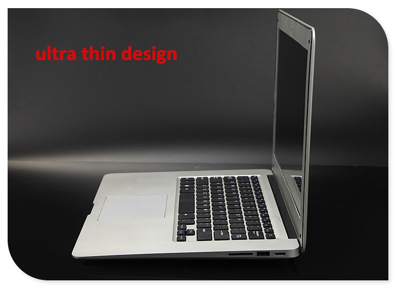 i 7 intel core 14inch laptop ultrabook notebook computer 4GB DDR3 500GB USB 3.0 J1900 Quad core WIFI HD-MI webcam
