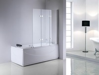 new modern design plastic shower door
