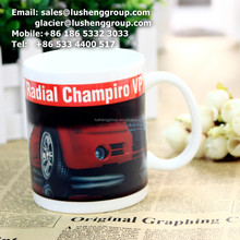 country music replication oversized printing ceramic mug With ISO9001-2008 Certificate