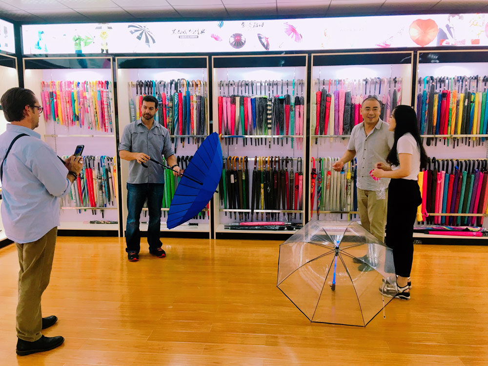 Chinese Supplier ECO Friendly Material promotion golf umbrella