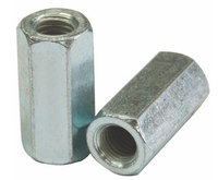 Carbon steel Zinc plated M8 M12 M16 DIN6334 hex long nut