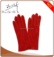 Cheap Sexy Ladies Red Wool Cycling Hand Gloves Party Dress 2016 NEW Style