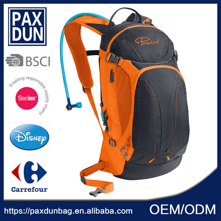 Durable Hydration Pack Water Rucksack Backpack Bladder Bag Cycling Hiking Climbing with 2L Hydration Bladder