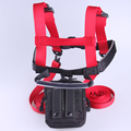 Skate roller blade durable youth kind ski trainer harness in red color