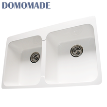 Solid surface acrylic resin/composite granite/acrylic quartz used apron front sinks kitchen sinks