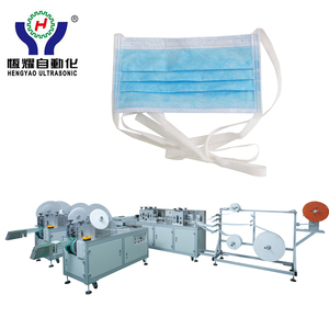 Automatic Tie On Doctor Face Mask for Single use Making Machine