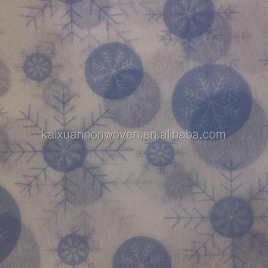 pp spunbonded nonwoven snow pattern christmas tree cover