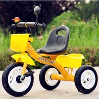 Cheap hot sale plastic baby tricycle with back/children safety tricycle for 2 years old/baby smart eec trike 3 wheel tricycle