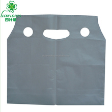 Customized logo double cup carry plastic bag / Hdpe Vest Handles Bags/ Double Cups plastic drink bags