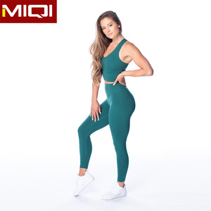 Custom Women Sport Suit Girls Yoga Gymwear Wholesale Fitness Ladies Workout Set