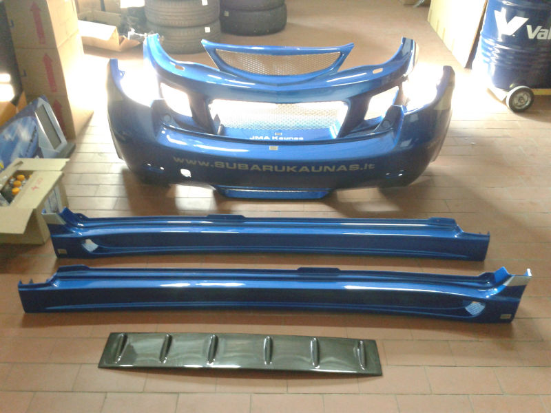 Full Charge Speed Body Kit (2008 WRX STI Hachback)
