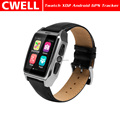 TWATCH X02 IPS capacitive touch screen Android 4.4 Pedometer Heart Rate Monitor WIFI 3g gps tracker watch