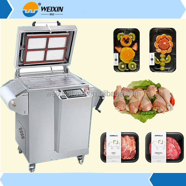 2017 Fruits Tray Modified Atmosphere Packaging Machine/Map Packing Machine/Vacuum Map Tray Sealing Machine