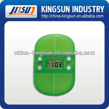 New arrival plastic pill box with timer, clock timer, 2004