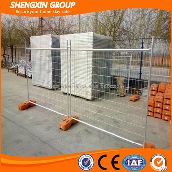 China supplier!!! PVC coated Hot dipped galvanized Powder Temporary fence