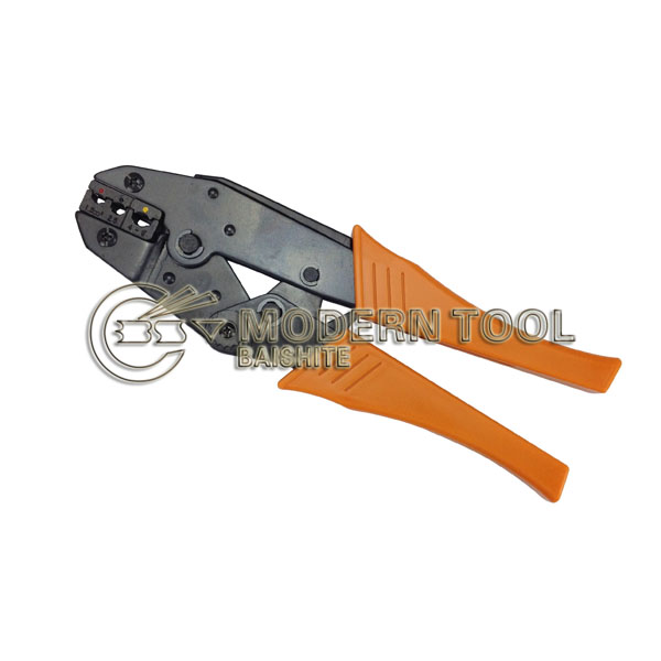 Hand Operated HS-30J Ratchet Crimping Plier For Insulated Terminals Lugs