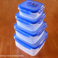 Stackable&Nestable vacuum plastic storage containers