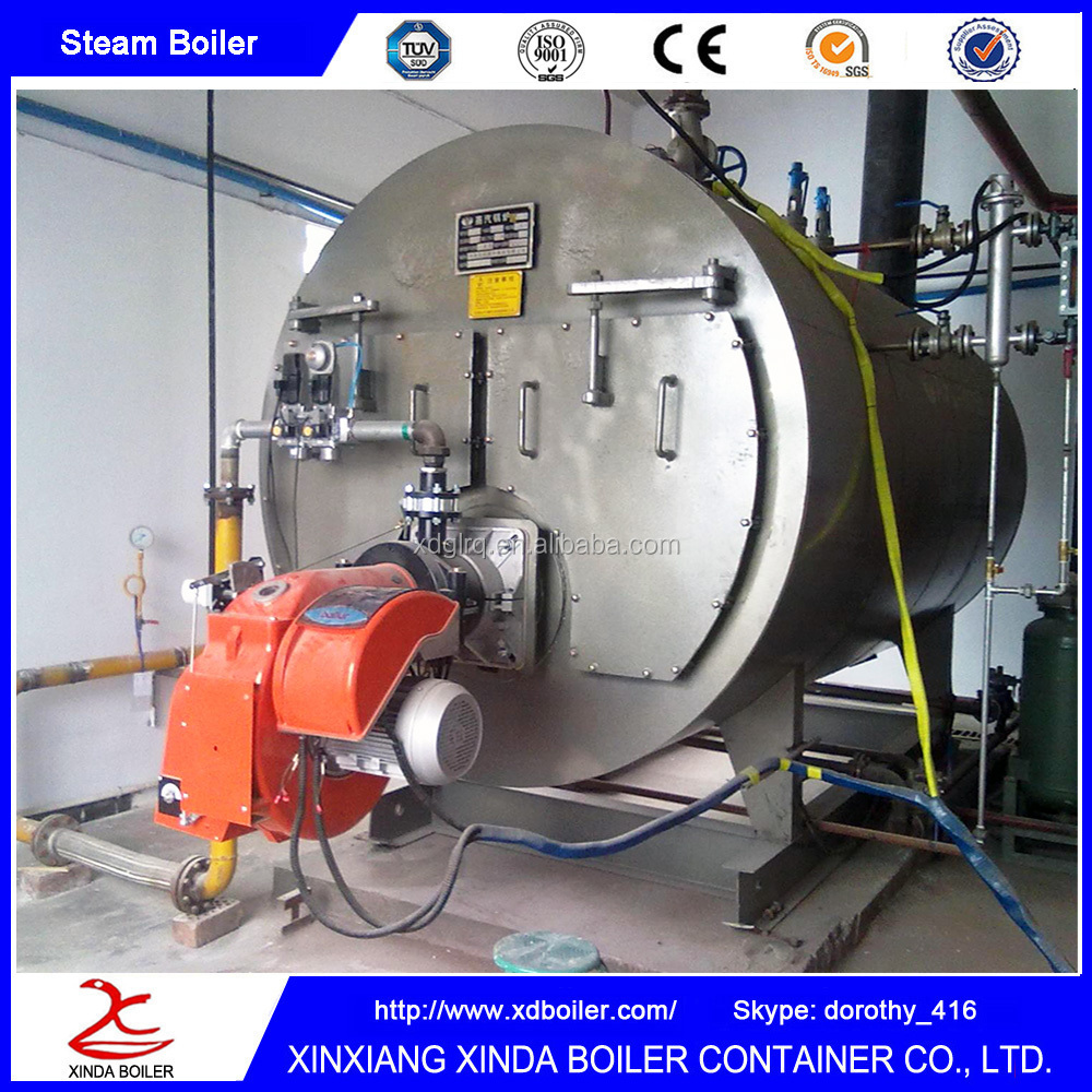 Oil Gas Fuel Fired Full Automotive Steam Boiler Factory Cheap Price