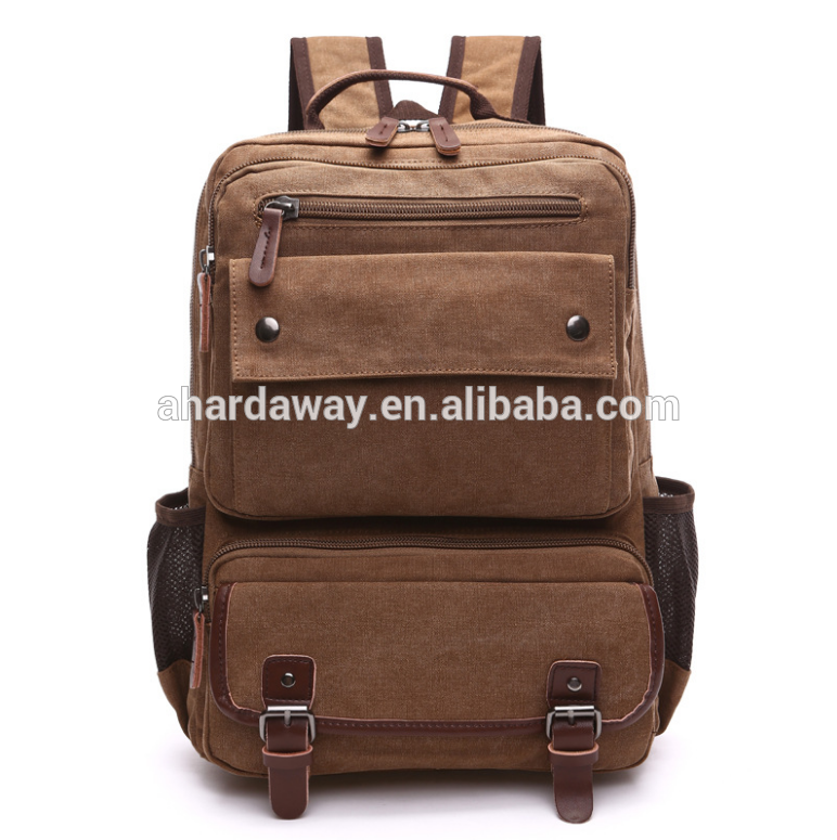 Wholesale new design cheap canvas satchel bag