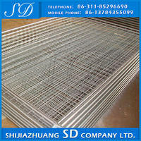 Guaranteed Quality Low Price 4X4 Galvanized Steel Wire Mesh Panels