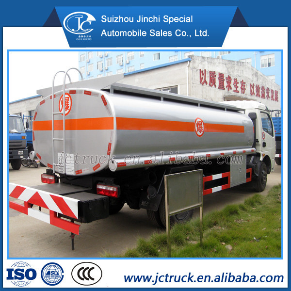 Factory Offer 10000L petrol tanker with diesel engine