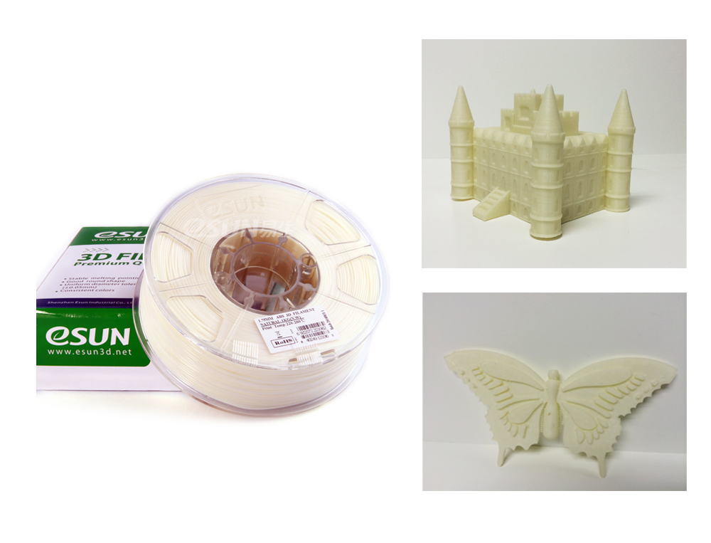 ESUN PLA/ABS/PVA filaments for 3D Printers