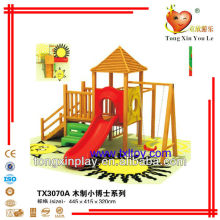 Kids wooden playground equipment TX3070A