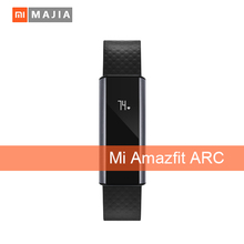 Xiaomi Amazfit A1603 Wristband Arc Activity, Smart Heart Rate & Sleep Tracker with OLED Strap Touchscreen, Black
