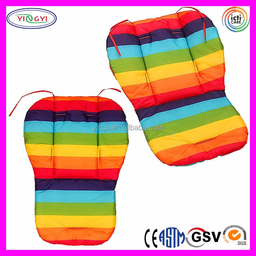 E866 Universal Waterproof Soft Stroller Cushion Baby Car Seat Pad Double Side Mat Baby Stroller Cushion