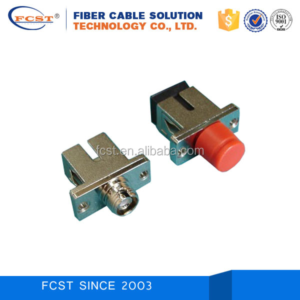 SC/APC-FC/APC Hybrid Fiber Optic Adaptor