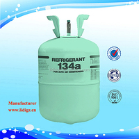 HFC R134a Refrigerant Gas In Refillable Cylinder For Sale