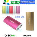 2015 new promotional products 5200mAh universal portable power bank