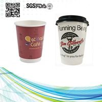 8Oz Double Wall Insulated Hot Coffee Paper Cups