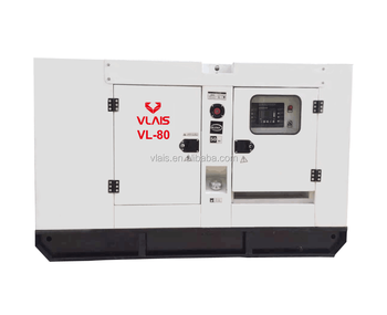 China manufacturer silent 80kw 100kva diesel generator with ATS price