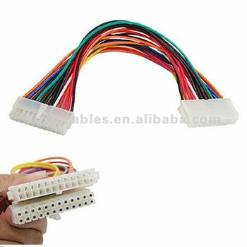 24 PIN Extension Cable 24 Pin ATX Male to Female Connector