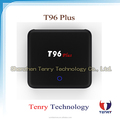 Good Quality 3GB DDR3/16GB eMMC Mali-T820MP3 GPU Android TV box T96 Plus