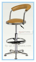 Guangzhou Flyfashion laboratory furniture/ SF-101 comfortable adjustable height swivel lab stool