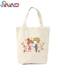 2018 Factory price custom recyclable shopping bags women handbags cotton canvas tote bag