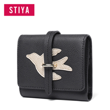 Latest design long clutch bag women handmade purse leather wallet for ladies
