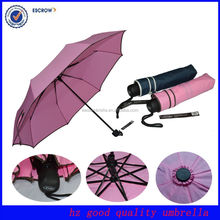 Special gift 3 fold customized umbrella big promotion umbrella