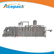 Automatic detergent powder filling packing CE standard shampoo sachets package machine