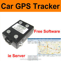 Car Tracker, 4pcs magnet,850/900/1800/1900MHz,can work all in the word,free gprs tracking system