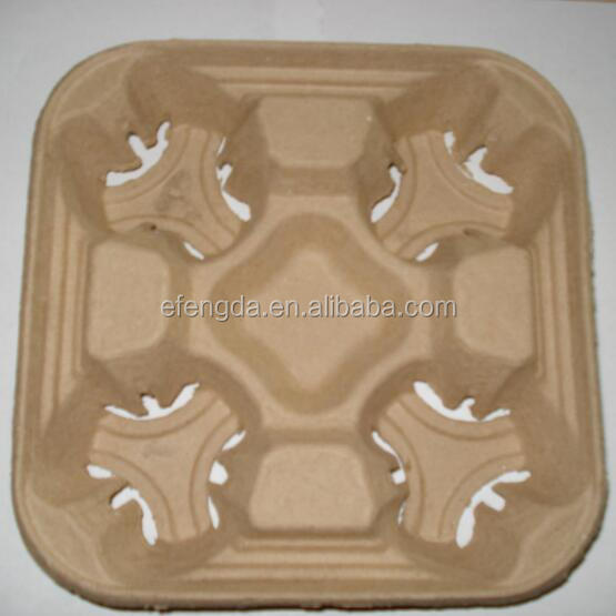 Hot sale 100% compostable biodegradable paper coffee plate
