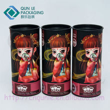 Tea Packaging Paper Can with Tin Lid Tea Packaging Box Manufacturer