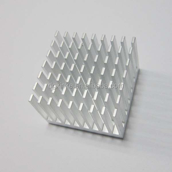 High Quality Extrusion Profile Die Casting Square Small Aluminum Radiator