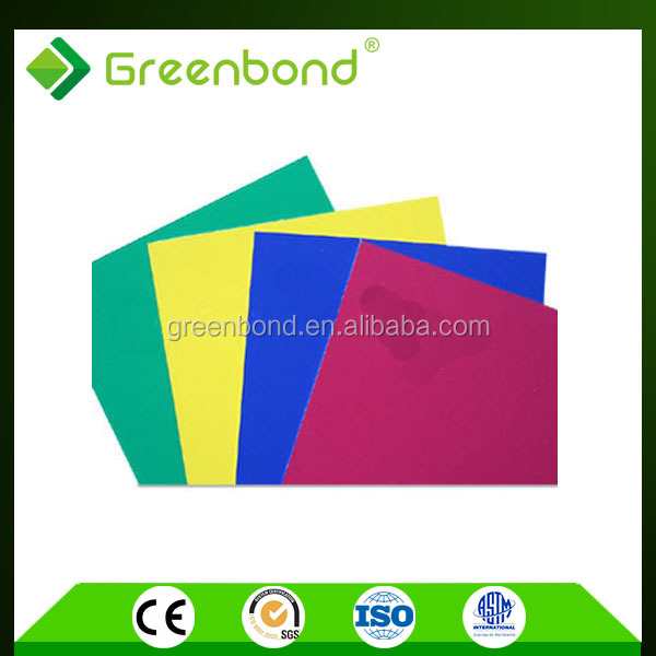Greenbond 3mm acm panel acoustic wood panel acp