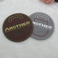 Custom new design silicone rubber beer coaster/pvc drinking cup coaster
