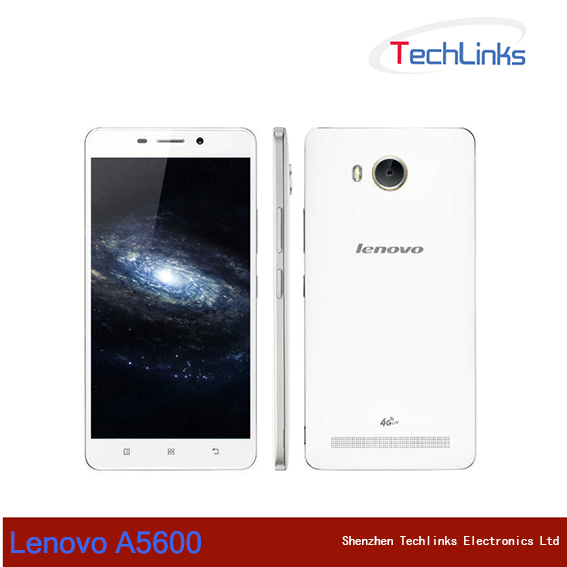 Original Lenovo A5600 LTE 4G Mobile Phone Android 5.1 MTK 6735P 1.0GHz Quad Core 1G RAM 8G ROM 5.5inch 720P 8.0MP camera